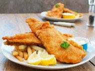 Рецепта Панирано филе от риба минтай